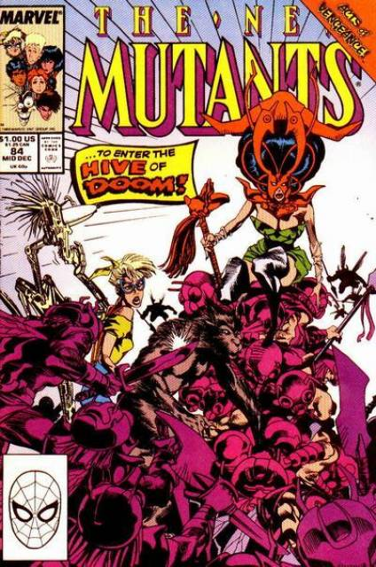 The New Mutants (1983) no. 84 - Used