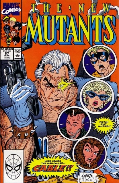 The New Mutants (1983) no. 87 - Used