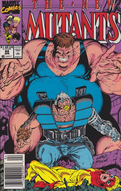 The New Mutants (1983) no. 88 - Used