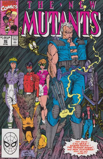 The New Mutants (1983) no. 90 - Used