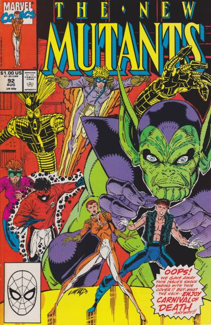 The New Mutants (1983) no. 92 - Used