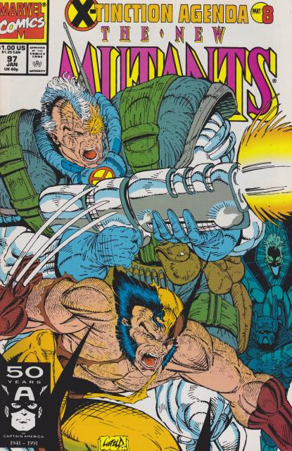 The New Mutants (1983) no. 97 - Used