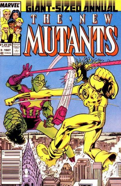 The New Mutants (1983) Annual no. 3 - Used