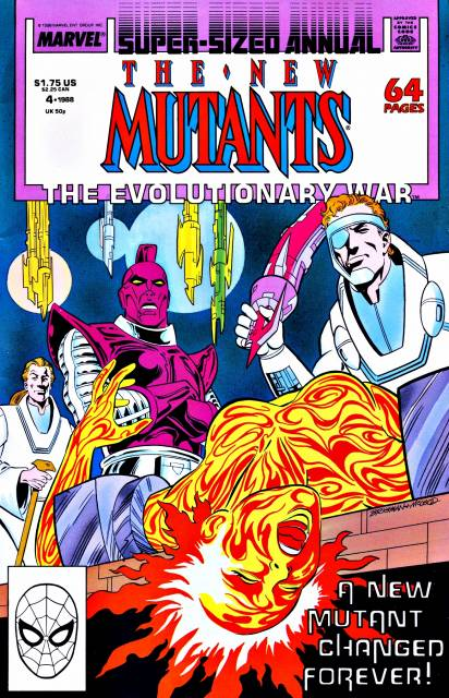 The New Mutants (1983) Annual no. 4 - Used