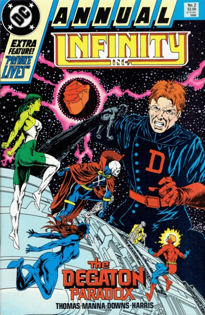 Infinity Inc (1984) Annual no. 2 - Used