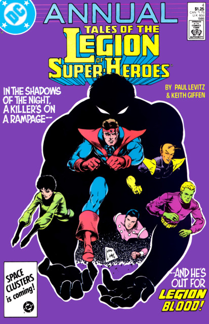 Legion of Super-Heroes (1984) Annual no. 4 - Used