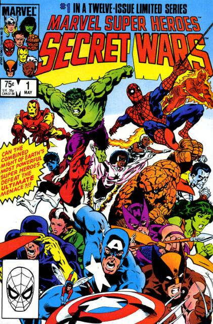 Marvel Super Heroes Secret Wars (1984) Complete Bundle - Used