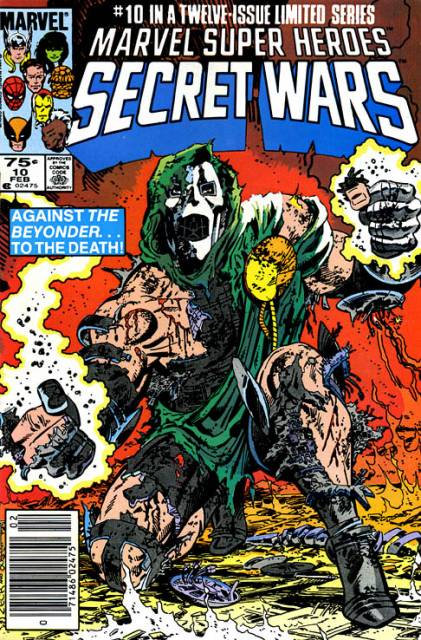 Marvel Super Heroes Secret Wars (1984) no. 10 - Used