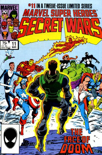 Marvel Super Heroes Secret Wars (1984) no. 11 - Used