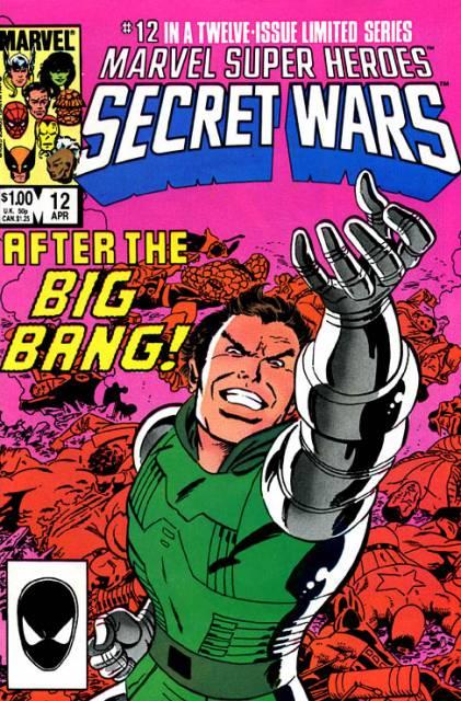 Marvel Super Heroes Secret Wars (1984) no. 12 - Used
