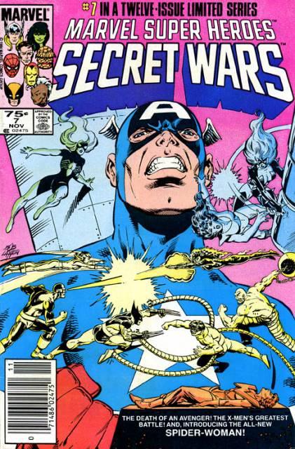 Marvel Super Heroes Secret Wars (1984) no. 7 - Used