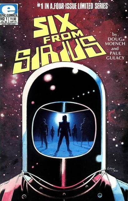Six from Sirius (1984) Complete Bundle - Used