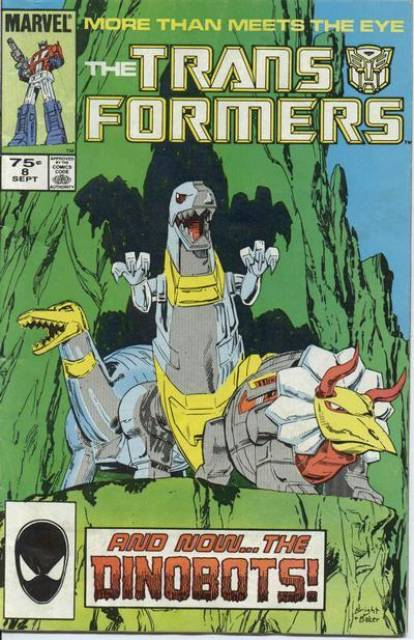 Transformers (1984) no. 8 - Used