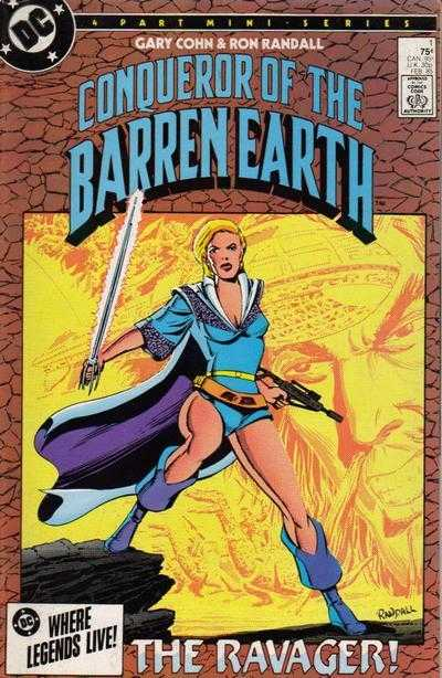 Conqueror of the Barren Earth (1985) Complete Bundle - Used