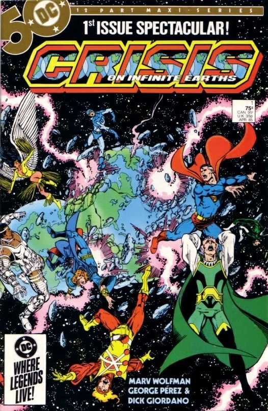 Crisis on Infinite Earth (1985) Complete Bundle - Used