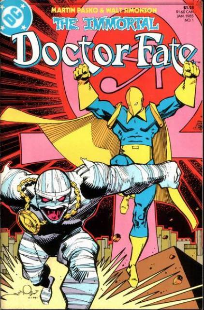The Immortal Doctor Fate (1985) Complete Bundle - Used