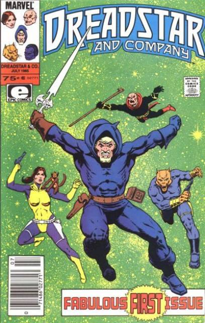 Dreadstar and Company (1985) Complete Bundle - Used