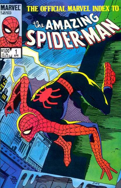 The Amazing Spider-Man (1963) Official Index no. 1 - Used