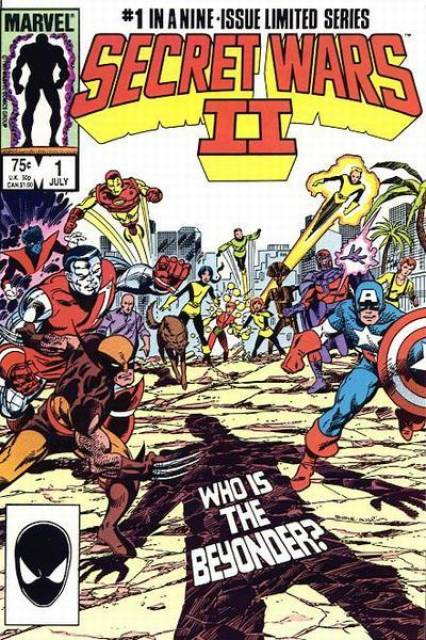 Secret Wars II (1985) Complete Bundle - Used