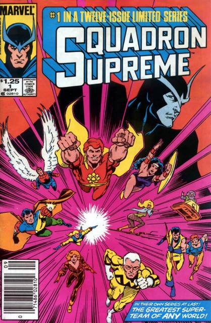 Squadron Supreme (1985) Complete Bundle - Used
