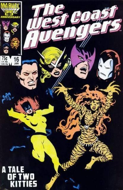 West Coast Avengers (1985) no. 16 - Used