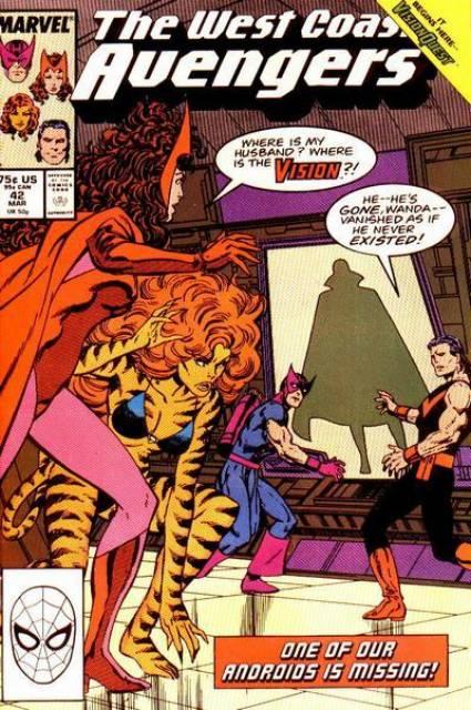 West Coast Avengers (1985) no. 42 - Used