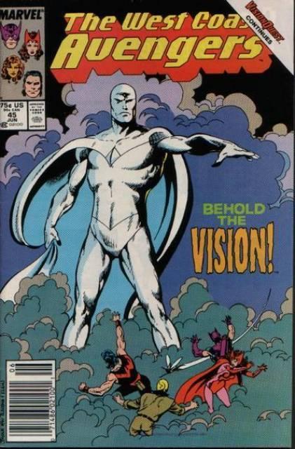 West Coast Avengers (1985) no. 45 - Used