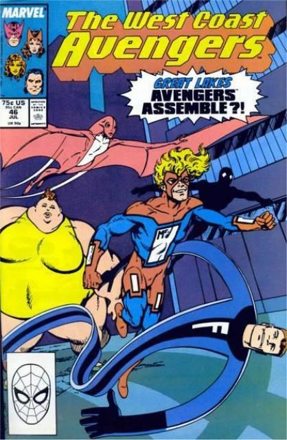 West Coast Avengers (1985) no. 46 - Used