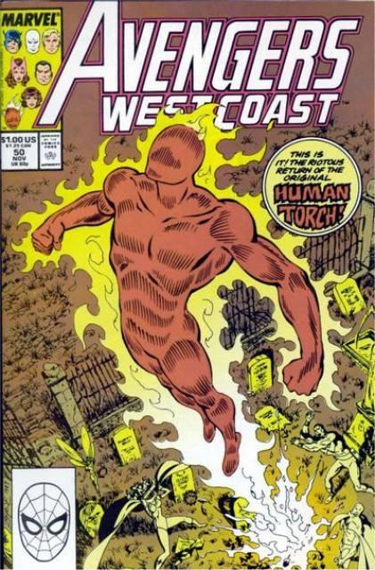 West Coast Avengers (1985) no. 50 - Used