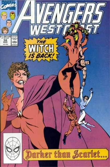 West Coast Avengers (1985) no. 56 - Used