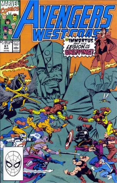 West Coast Avengers (1985) no. 61 - Used