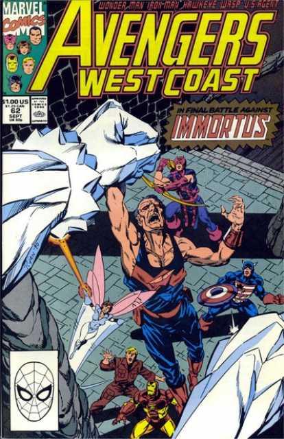 West Coast Avengers (1985) no. 62 - Used