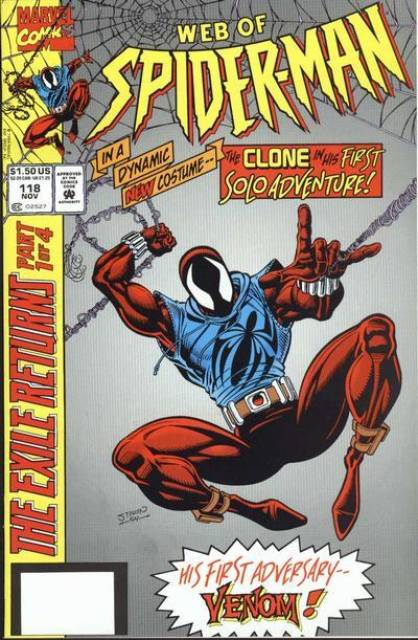 Web of Spider-Man (1985) no. 118 - Used
