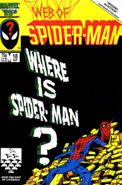 Web of Spider-Man (1985) no. 18 - Used