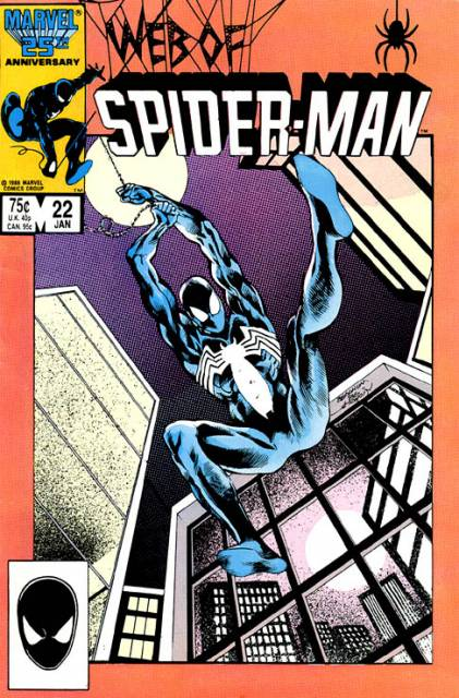Web of Spider-Man (1985) no. 22 - Used