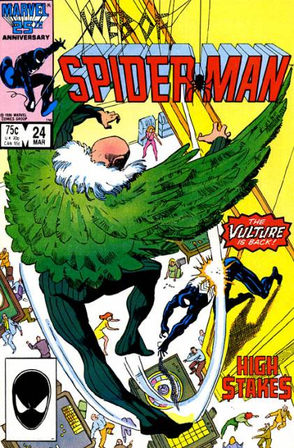 Web of Spider-Man (1985) no. 24 - Used