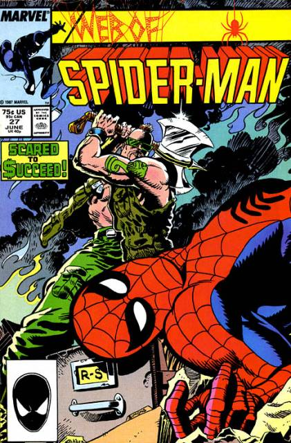 Web of Spider-Man (1985) no. 27 - Used
