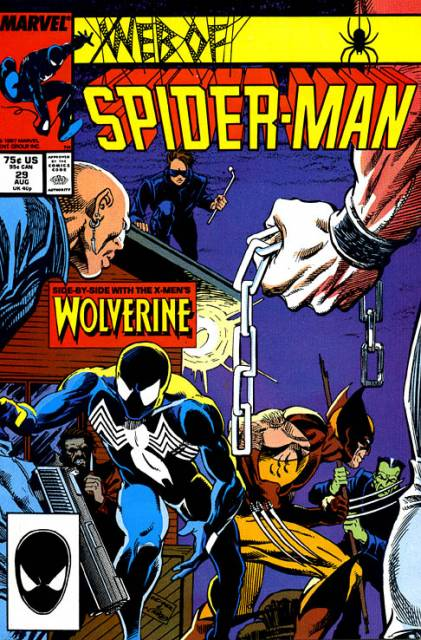 Web of Spider-Man (1985) no. 29 - Used