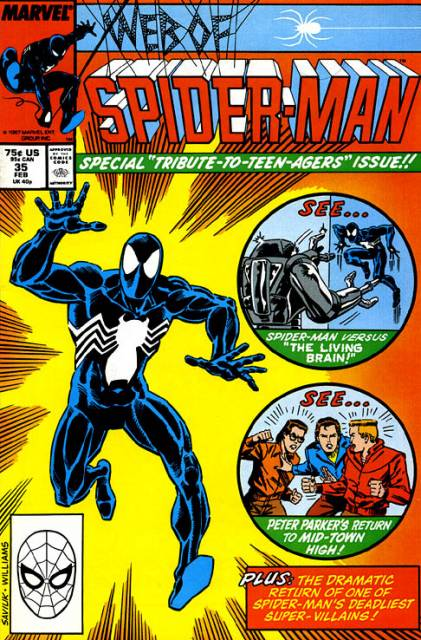 Web of Spider-Man (1985) no. 35 - Used