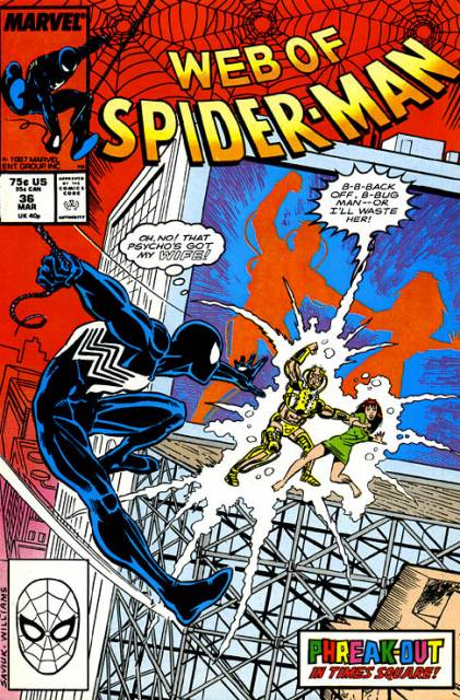 Web of Spider-Man (1985) no. 36 - Used