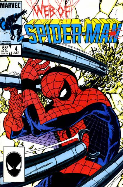 Web of Spider-Man (1985) no. 4 - Used