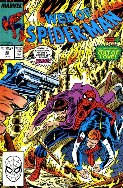 Web of Spider-Man (1985) no. 43 - Used