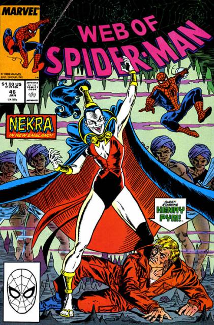 Web of Spider-Man (1985) no. 46 - Used