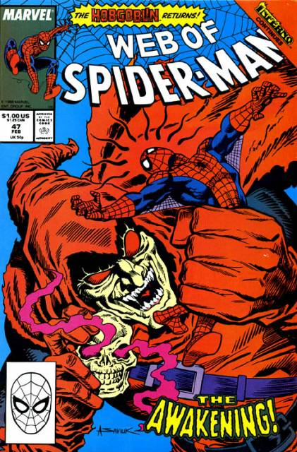 Web of Spider-Man (1985) no. 47 - Used