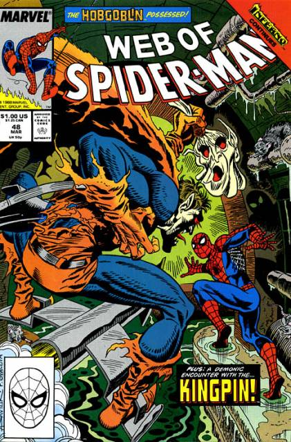 Web of Spider-Man (1985) no. 48 - Used