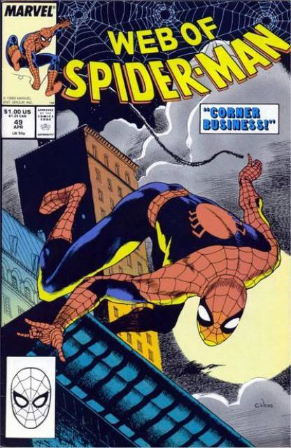 Web of Spider-Man (1985) no. 49 - Used