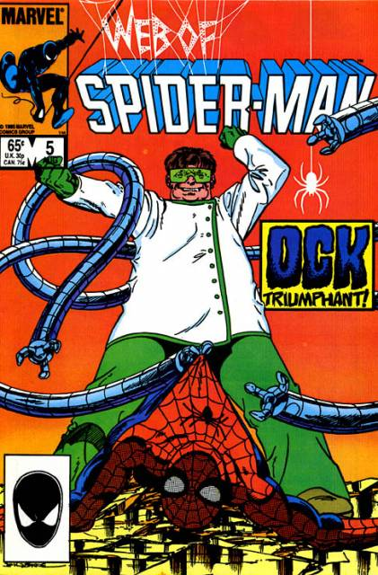 Web of Spider-Man (1985) no. 5 - Used