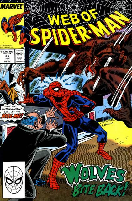 Web of Spider-Man (1985) no. 51 - Used