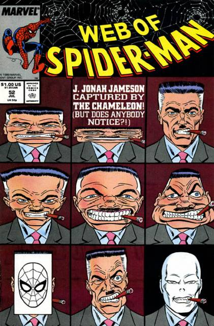 Web of Spider-Man (1985) no. 52 - Used