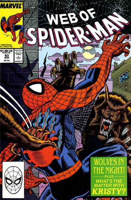 Web of Spider-Man (1985) no. 53 - Used